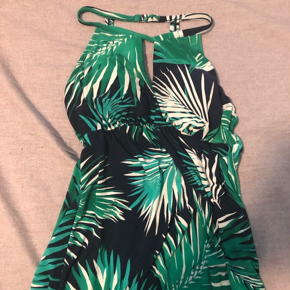 Other - Tropical halter tankini